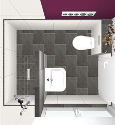 Home Room Design, Bathroom Interior Design, House Design, Wc Design, Plywood Kitchen, Bathroom Floor Plans, House Rooms, Small Bathroom, New Homes