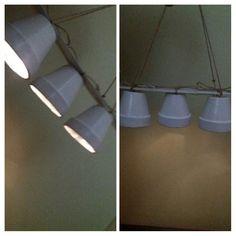 Cute-vintage-light Vintage Lighting, Track Lighting, Ceiling Lights, Diy, Home Decor, Homemade Home Decor, Bricolage, Ceiling Light Fixtures, Ceiling Lamp