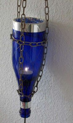 repurposed glass bottles | Repurpose old bottles with instructions on how to cut glass