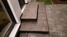 #Granittreppen - Aufmaß, Lieferung und Montage in Wesseling, Köln.  http://www.maasgmbh.com/aktuelle-koeln-tan-brown-granittreppen-tan-brown-koeln