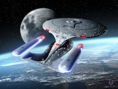 Visiting Home - NCC-1701-D
