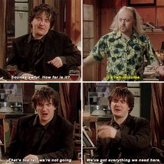 When anyone asks you to go anywhere, ever: | 24 Times Bernard Black Was The Most Relatable Character To Have Graced...