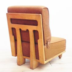 Located using retrostart.com > Elmyre Lounge Chair by Robert Guillerme and Jacques Chambron for Votre Maison