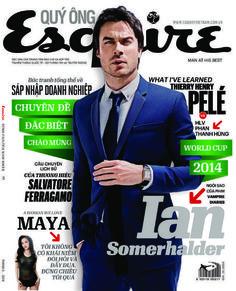 Ian Somerhalder - Esquire Magazine Cover [Vietnam] (June 2014)