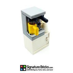 LEGO Coffee Machine with Cupboard for Minifigure in Spielzeug, Baukästen & Konstruktion, LEGO   eBay!