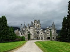 Ardverikie Estate - house in the Scottish highlands overlooking King Fergus Island, Scotland, UK - home for the BBC's Monarch of the Glen series Scotland Castles, Scottish Castles, English Castles, Scotland Uk, Beautiful Castles, Beautiful Places, Beautiful Pictures, Monarch Of The Glen, England Ireland