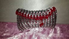 Lovely in red can tabs clutch - Ashlea's Designs