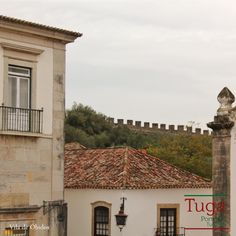 A muralha de Óbidos, Portugal