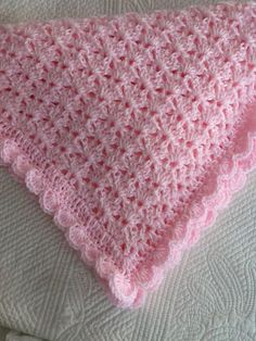 Lovely personally-designed and crafted baby snuggle blanket. Created in Delicate Baby Pink color.Soft and Cozy Baby Afghan in Baby Pink Pink by LakeviewCottageKids Soft and Cozy Baby Afghan in \Baby Pink\, Pink Crochet Baby Afghan, Crochet Baby BlanM Crochet Afghans, Baby Afghans, Crochet Blanket Patterns, Baby Blanket Crochet, Crochet Baby, Afghan Blanket, Knitted Baby, Baby Snuggle Blanket, Pink Baby Blanket