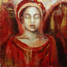 Fire Angel  Paintings of Anna Amrhein, Germany