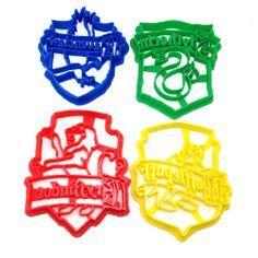 Harry Potter House Crest Set Cookie Cutter — WarpZone Prints