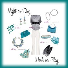 Shades of turquoise & teal, created by Renee on Polyvore. Shop for Park Lane Jewelry online at myparklane.com/remartinez