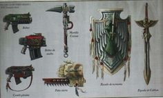 Dark Angel Weapons