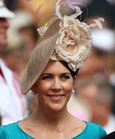 Crown Princess Mary, July 2, 2011 in Jane Taylor   Royal Hats