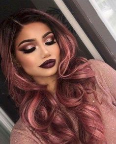 Trending fall hair color inspiration 2017 (62)
