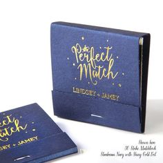 THE PERFECT MATCH Matchbooks Min of 50 by PicturePerfectPapier