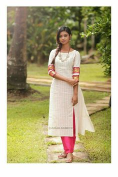 It was after the days, Thursday last week. she stood there like a lightning of hope and a pillar of strength! Dress Neck Designs, Blouse Designs, Indian Attire, Indian Wear, Indian Designer Outfits, Designer Dresses, Indian Dresses, Indian Outfits, Salwar Pattern