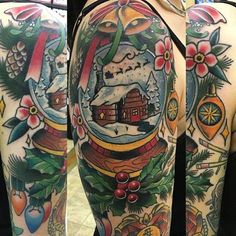 3930438832474 34 Adorable Christmas Tattoo Ideas That Will Make You Look Fabulous This  Christmas