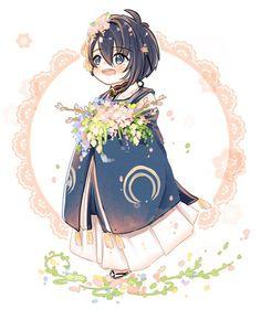 Mikazuki (三日月) | Touken Ranbu #game #chibi
