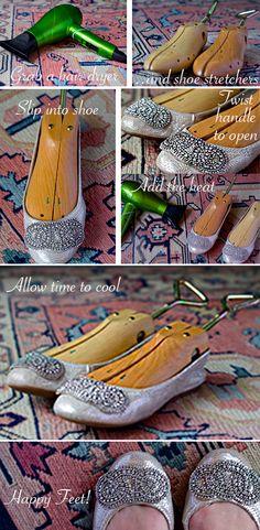 DIY Shoe stretch
