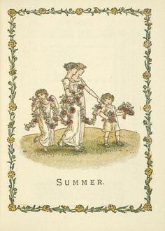 Summer - Kate Greenaway's Almanack for 1897