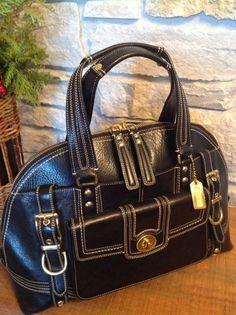 27318181d COACH Hampton XL Vintage Miranda Domed Turnlock Satchel Gorgeous!11085 MSRP  $850 | eBay. Coach Leather BagCoach ...