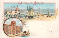 Berlin, Schleusenhaus, Wirtshaus Neue Sch., um 1900