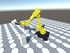 Elevate your workflow with the Robotic industrial dynamic arm controller asset from VR Cardboard Buddies. Find this & other Industrial options on the Unity Asset Store. Industrial Robotic Arm, Industrial Robots, Robot Arm, Asset Store, Color Palettes, Unity, Design Inspiration, 3d, Abstract
