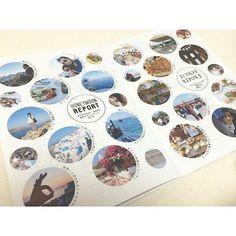 ハネムーンの様子を紹介するページでは、サントリーニ島とトルコの素敵さを伝えたくてたくさんの写真詰め込み♡