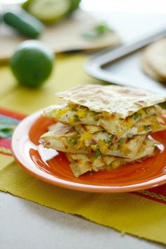 Spicy Brie Quesadilla | The Crave Gallery