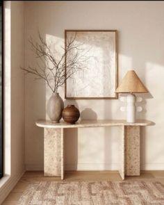 Home Interior Design, Interior Styling, Interior Decorating, Home Living Room, Living Room Decor, Bedroom Decor, Decoration Inspiration, Interior Inspiration, Interior Natural
