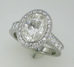 Contact me for the inside info. on this ring and how I can design and make one like it just for you! valerie@prestonjewelry.com - http://www.prestonjewelry.com