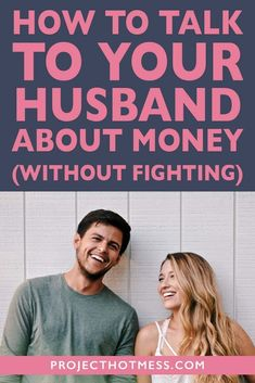 Do you fight with your husband anytime the topic of money comes up? Here's how you can talk to your husband about money without fighting and start creating a positive financial relationship. Marriage Tips, Relationship Advice, Relationships, Healthy Marriage, Happy Marriage, Financial Success, Financial Literacy, Financial Planning, Advice For Newlyweds