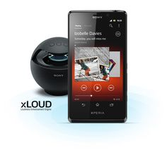 """Xperia T comes with the new """"WALKMAN"""" app."""