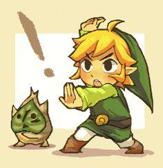 Link & Makar via pixiv