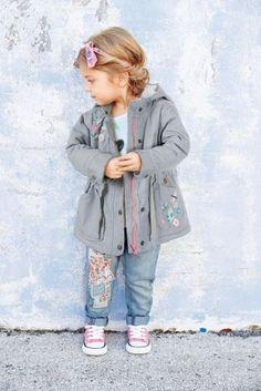 Buy Grey Embellished Parka Jacket (3mths-6yrs) from the Next UK online shop