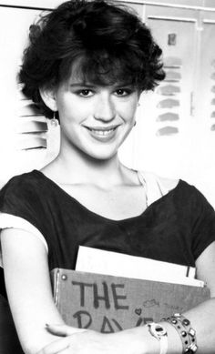 Molly as Samantha Baker in Sixteen Candles
