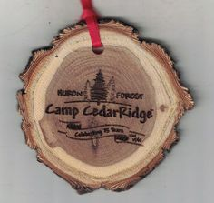 Forest Camp, Wooden Ornaments, Fort Collins, How To Make Ornaments