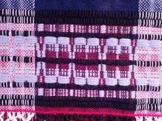 sampler | February 2013 | Sea Star: Marguerite Davison | cotton carpet warp + wool