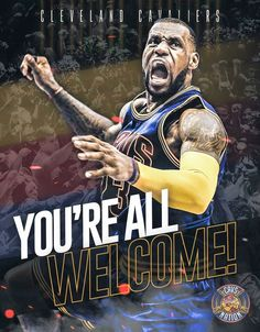 Cavaliers Nba Lebron James, King Lebron James, King James, Champions Of The World, Nba Champions, Cleveland Cavs, Cleveland Rocks, Air Max 2009, Basketball Players