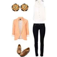 Coral Chic Outfit