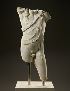 A monumental marble torso of Dionysos is on loan to the Getty Museum as a highlight of a special installation celebrating the ancient Greek and Roman marble and bronze sculptures from the Santa Barbara Museum of Art's collection.