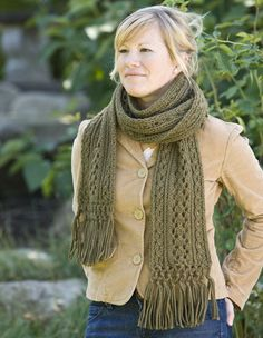 Vineyard Scarf $1.99 from KnitPicks