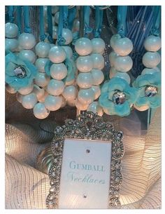 Gumball Necklaces. A great idea for party guests! Get your supplies at www.fizzypops.com