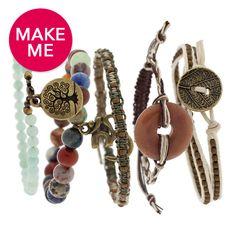 Hippie Chic Stacked Bracelet Set!