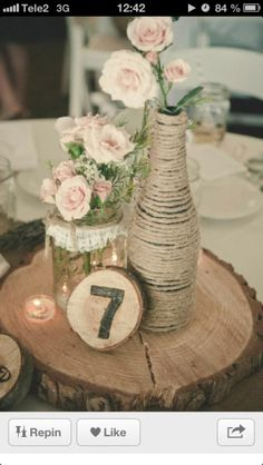 Rustic Wedding A lovely idea to put together that lovely dreamy time. rustic chic wedding centerpieces chic suggestion stat 1728027311 posted on 20190502 Rustic Wedding Centerpieces, Diy Centerpieces, Wedding Rustic, Wedding Vintage, Fall Wedding, Wedding Reception, Rustic Weddings, Romantic Weddings, Country Weddings