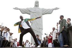Visita de Bolt (© Reuters)
