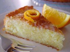 Orange Cake - Oh, this looks so yummy! Greek Sweets, Greek Desserts, Vegan Desserts, Just Desserts, Delicious Desserts, Yummy Food, Food Cakes, Cupcake Cakes, Cupcakes