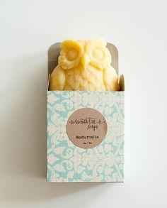 Carrot & Bergamot Soap  NOCTURNALIA Owl Soap  by seventhtreesoaps, $9.00