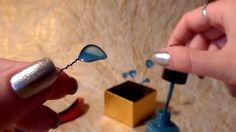 DIY hairpin: nail polish and wire + crash test/ Заколка из лака и проволоки